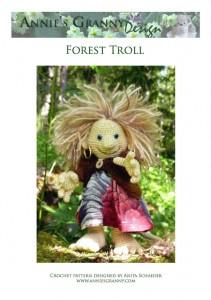 Forest Troll - Crochet pattern design Anita Schaeder Annie's Granny Design