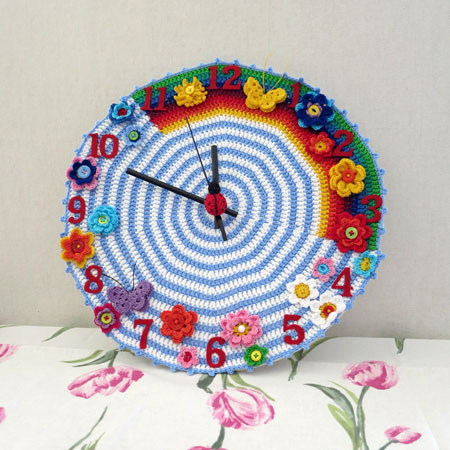Crochet-clock-1-finished