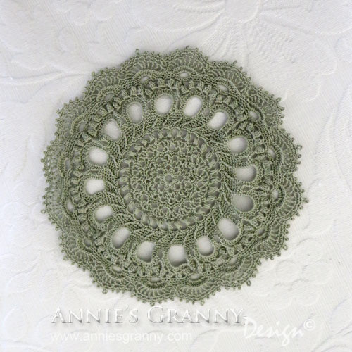 Splendid Doily by Annie's Granny Design - pattern by Patricia Kristoffersen