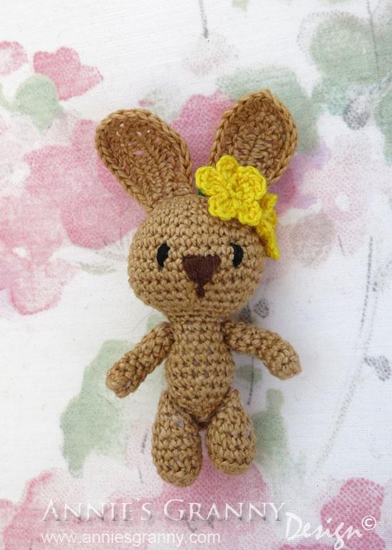 Miniature-Amigurumi-Bunny
