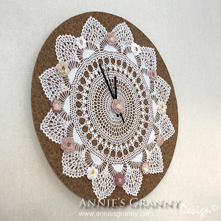 crochet clock