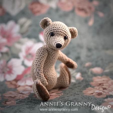 Crochet Teddy Bear by Annie's Granny Design