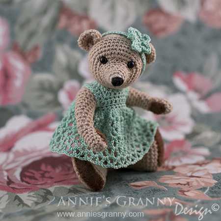 Crochet Teddy Bear by Annie's Granny