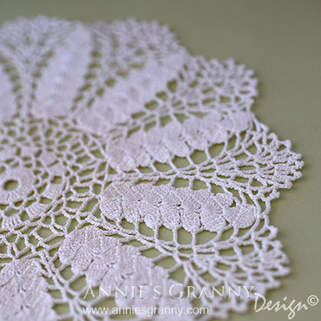 Crochet doily - Flee market find by AnniesGranny