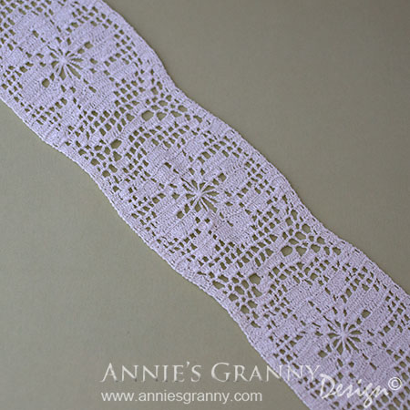Crochet lace - Flee market find by AnniesGranny