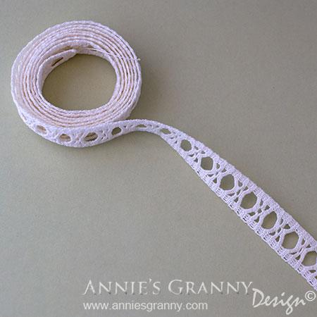 Crochet lace virkad spets