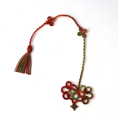 Tatted bookmark by Annie's Granny - design by Vicki Clarke