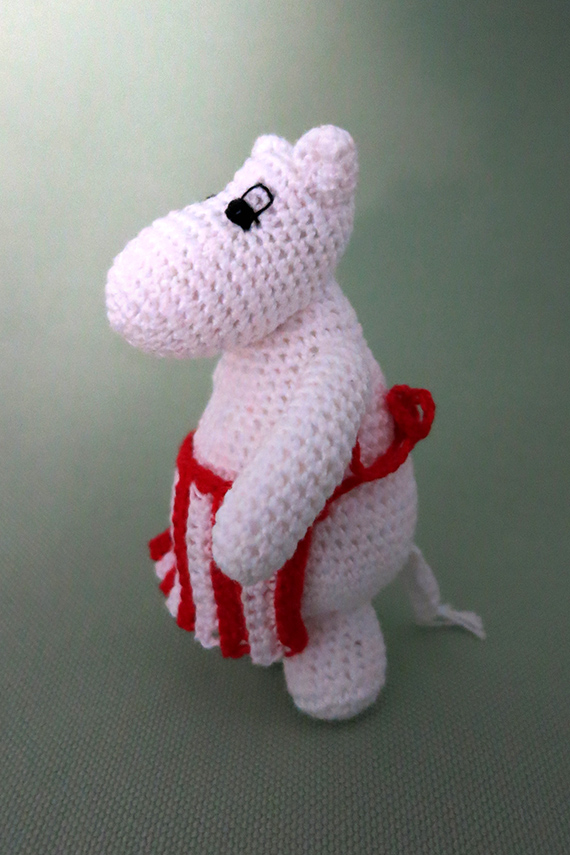 Crochet Moomin troll by Annie's Granny - Free crochet pattern by crochetamigurumi.blogg.se