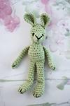 Virkad kanin - crochet bunny