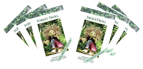Printed crochet troll patterns by Annie's Granny Design