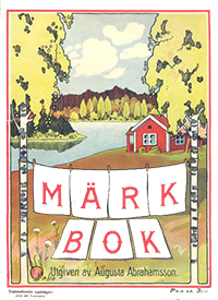 Märkbok av Augusta Abrahamsson