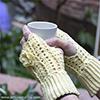 Wristwarmer - Free pattern by Anita Schaeder www.anniesgranny.com