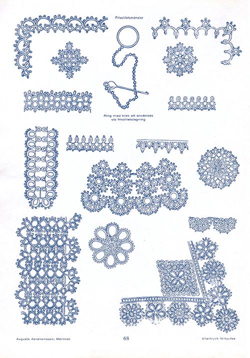 Märkbok av Augusta Abrahamsson - sidan 68
