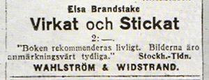 Annons - DN 1923-07-06 Virkat-och-stickat-annons