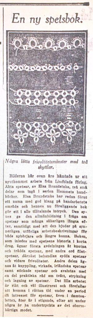 Artikel - DN 1925-10-25 En-ny-spetsbok
