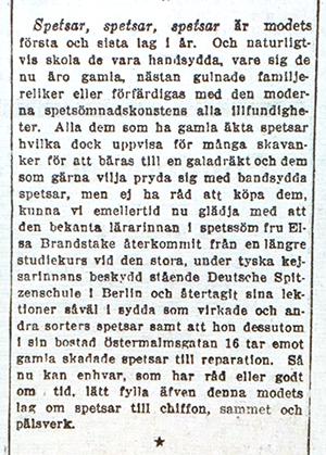 Artikel - SVD 1914-01-14 Spetsar-spetsar-spetsar