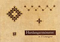 Hardangermönster av Sara Lawergren