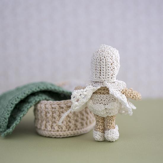 crochet baby doll